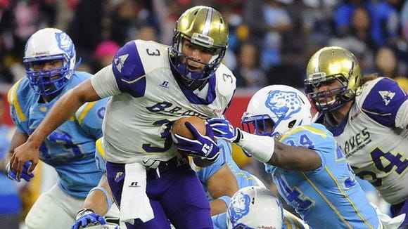 John Gibbs Jr. led Alcorn State to the 2014 SWAC championship.