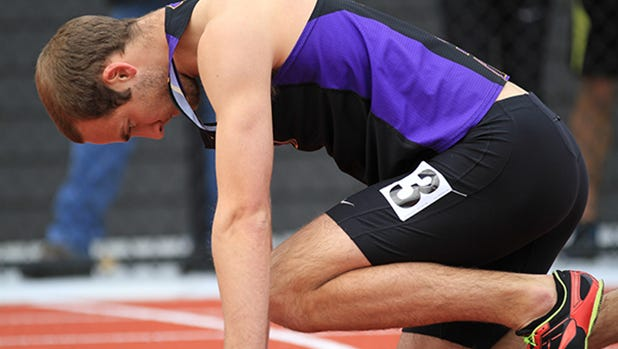 Tobias Muellers won the decathlon at the NCAA Division III track and field championships last month.