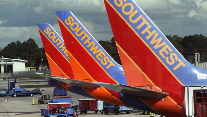 There are some delays toda at Southwest Florida International Airport due to severe weather in the region.