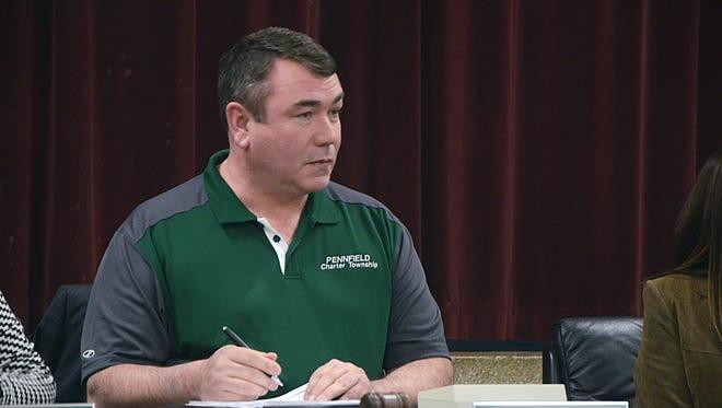 Pennfield Township Supervisor Dave Morgan