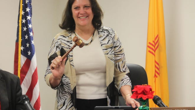 County Commissioner Susan Flores, District 2, was appointed chairman of the Otero County Board of Commissioners at the regular county commission meeting Thursday morning.