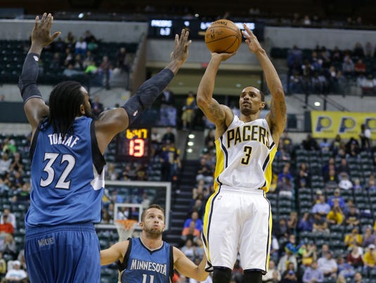 Timberwolves Pacers Basketball