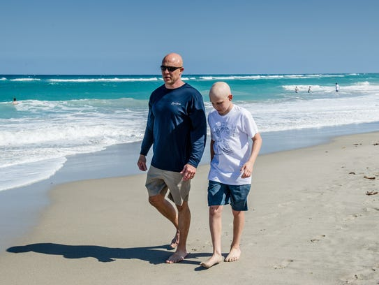 In May Gavin will begin proton radiation therapy and