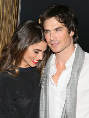 BEVERLY HILLS, CA - FEBRUARY 27: Nikki Reed and Ian Somerhalder attend the 3rd Annual Noble Awards held at the Beverly Hilton Hotel on February 27, 2015 in Beverly Hills, California.(Photo by JB Lacroix/WireImage) ORG XMIT: 540059233 ORIG FILE ID: 464699588