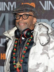 """Director Spike Lee attends the Jan. 15 premiere of HBO's new drama series """"Vinyl"""" at the Ziegfeld Theatre, in New York."""
