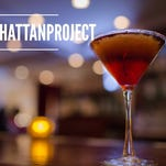 Benjamin Steakhouse submitted its recipe, which uses Makers Mark bourbon. We asked for recipes on social media, using the #manhattan<252>project hashtag.