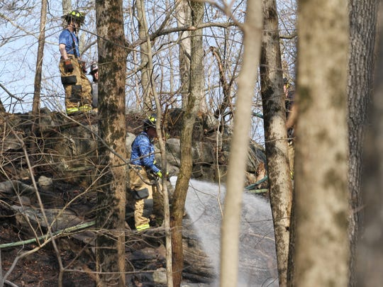 Chappaqua firefighters, with help from several other