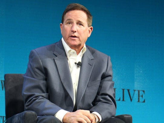 Oracle chief executive Mark Hurd discusses technology