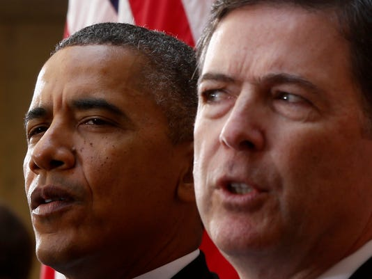 AP CLINTON EMAILS COMEY CAREER HIGHLIGHTS A ELN FILE USA DC