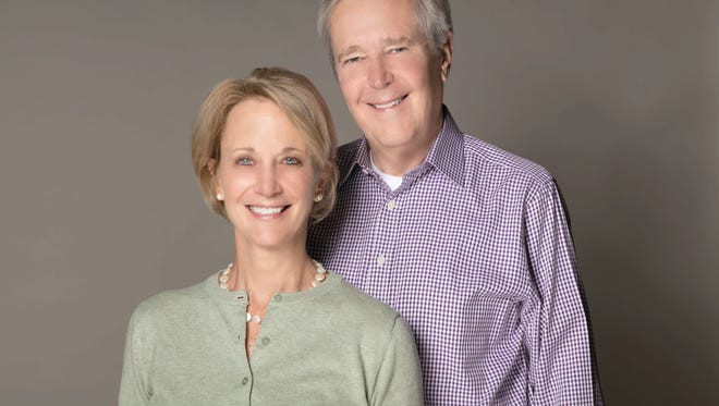 Co-authors James Fallows and Deborah Fallows.