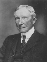 John D. Rockefeller, who built Standard Oil Co. and one of the world's largest fortunes in the process, is shown in this undated portrait.