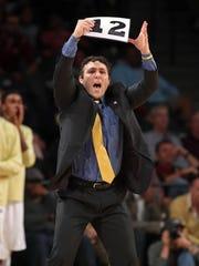 Georgia Tech Yellow Jackets head coach Josh Pastner