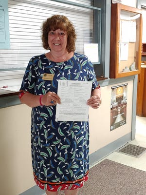 """Swansea Town Clerk Diane Pelland said her office has processed applications for couples from Westport, Fall River, Dartmouth, and even a Connecticut couple planning to marry on Cape Cod. """"It's been amazing,"""" she said."""