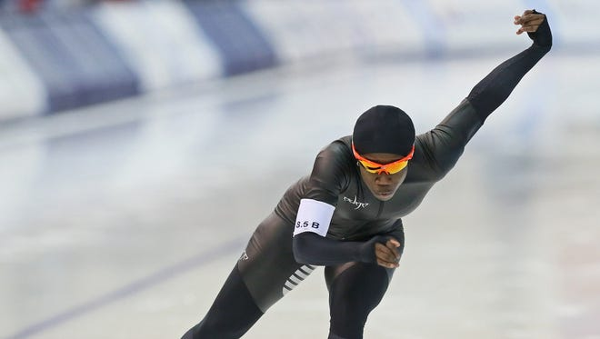 Erin Jackson suprised even herself by qualifying for next month's Winter Olympics in South Korea.