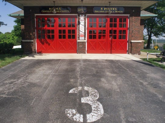 -  -Text: By Michael Heinz/Journal and Courier--Company No. 3 fire station which has been turned into a museum and educational center Wednesday, June 30, 2004 in Lafayette.