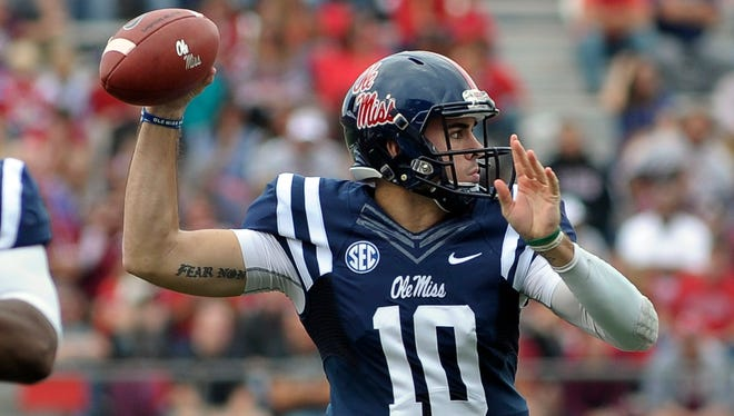 Ole Miss quarterback Chad Kelly was named to the Manning Award watch list.
