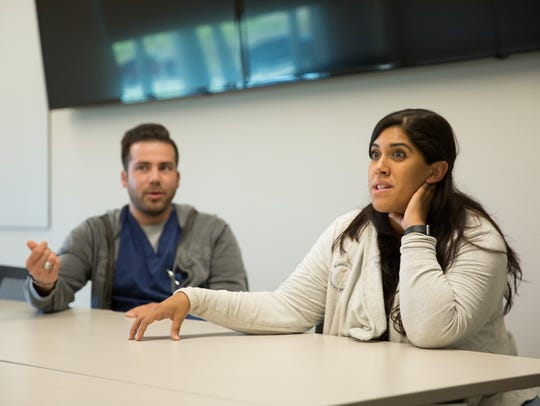 Students at Burrell College of Osteopathic Medicine