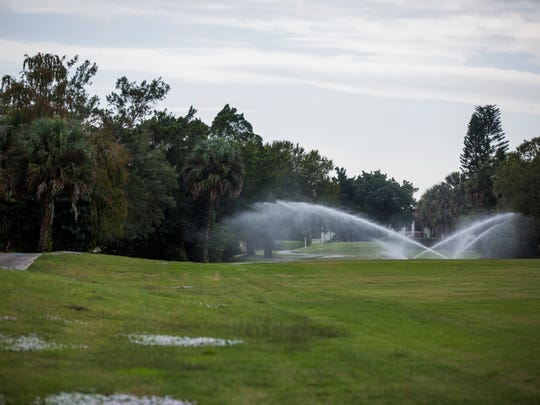 The golf course at Quality Inn & Suites Golf Resort in East Naples on Thursday, Dec. 8, 2016, is one of several golf courses that owners are hoping to close to build something else.