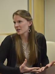 University of Vermont medical student Kirsten Martin