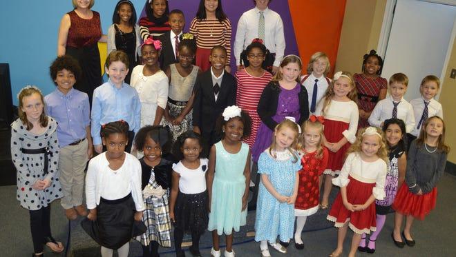 Martin Piano Studio students presented a Christmas recital on December 17.