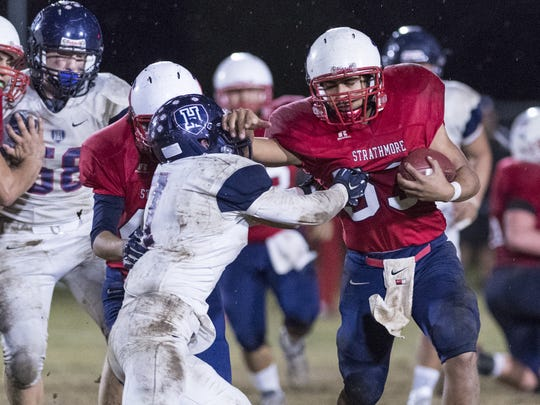Strathmore senior running back Joseph Garcia has rushed for more than 2,600 yards this season.