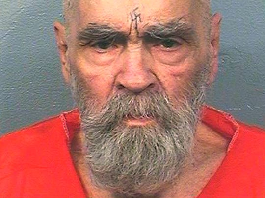 This Aug. 14, 2017 file photo provided by the California Department of Corrections and Rehabilitation shows Charles Manson, who died at age 83 on Nov. 19, 2017.