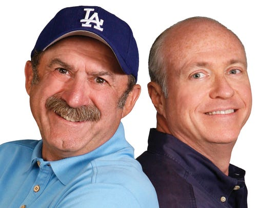 Bob Kevoian, left, and Tom Griswold debuted on Indianapolis