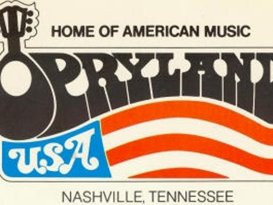 Opryland USA theme park closed in 1997.