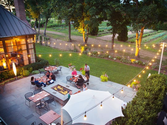 Guests will enjoy a bucolic 'table-at-the-farm' experience