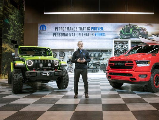Mopar Brand at the 2018 Chicago Auto Show.