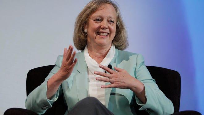 Hewlett-Packard CEO Meg Whitman.