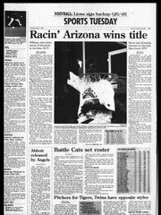 Battle Creek Sports History - Week of March 30, 1997