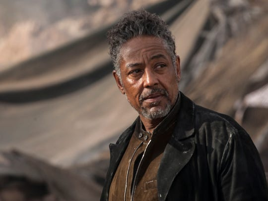Giancarlo Esposito's Jorge is a pirate and kind of