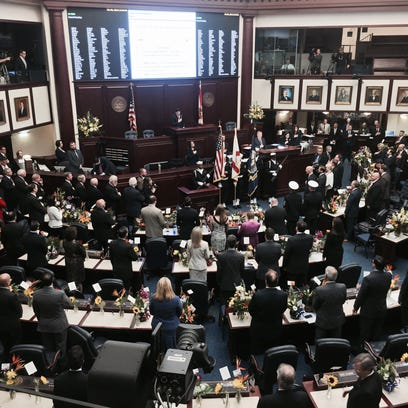 The Florida House opened for business today on the first day of the 2015 legislative session.