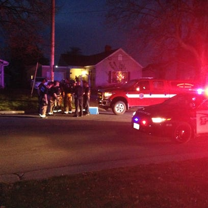 Authorities are responding to a shooting near Trestle Trail bridge in Menasha.