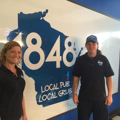 Jessica Koepke and Alan Blaine recently opened 1848, an eatery and tavern that centers on Wisconsin-born food and drink.
