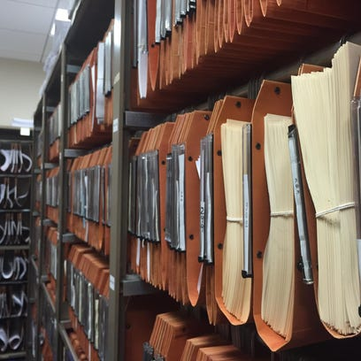 The legislative bill room houses the paper trails each's session's efforts at passing, amending or killing laws on the books.