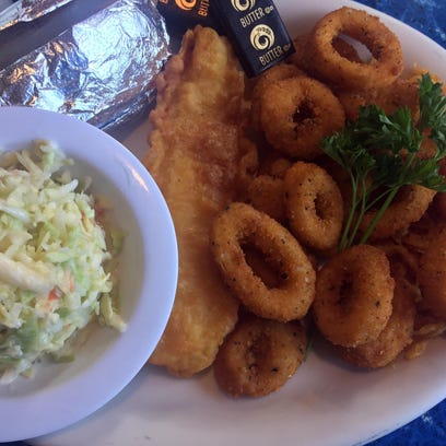 Fish, chips, & more at local eatery