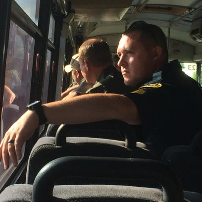 Saving lives and making stops: Tennessee Highway Patrol brings bus to Robertson