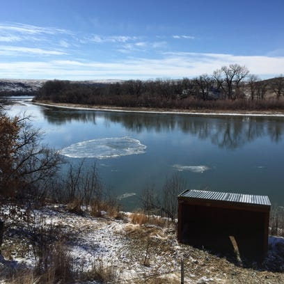 Ice that builds up on Missouri River in Great Falls is caused by a number of factors including temperature and river channel obstacles.