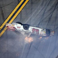 Justin Fontaine fractures back in ARCA crash at Daytona
