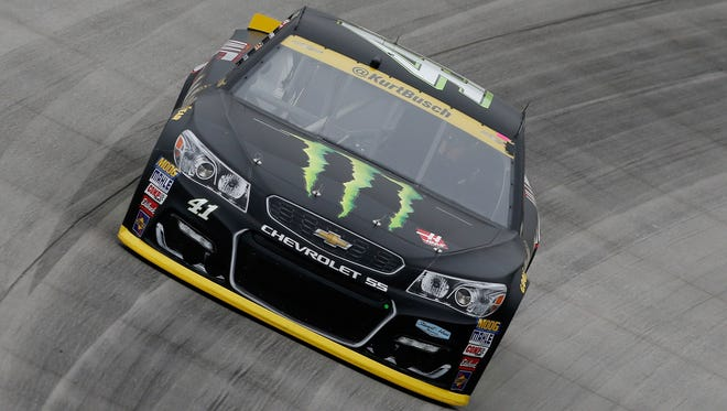 Monster Energy was splashed across Kurt Busch's No. 41 Chevrolet during the 2016 season.