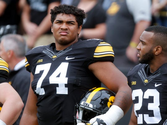 Iowa offensive lineman Tristan Wirfs faces potential discipline following his June 28 alcohol-related arrest.