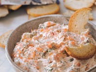 Creamy Smoked Salmon Dill Dip Recipe