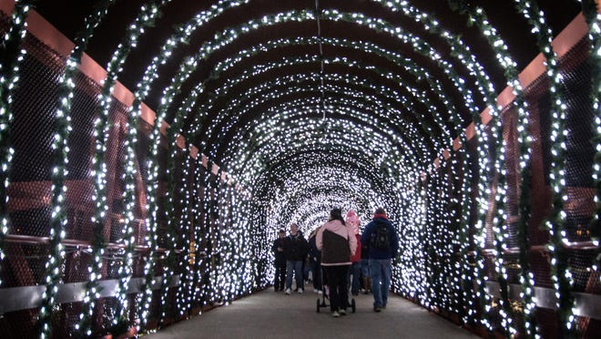 The Festival of Lights hosted by PNC at the Cincinnati Zoo dazzles young and old alike.