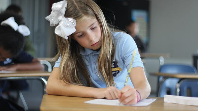 A student is pictured here working at one of Responsive Education Solutions' existing schools. The organization recently received approval for two Texoma schools from the Texas Education Agency.