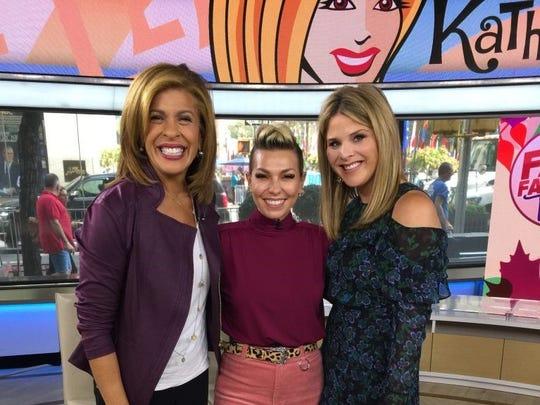 Hoda Kotb, Melissa Garcia Jenna Bush Hager on the TODAY Show.