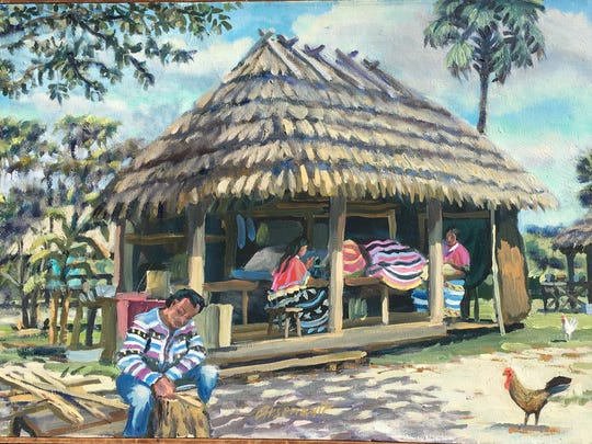 "The Marco Island Historical Museum presents ""Coastal Trade — Bounty, Booty, And Boats of the Gulf and Glades from Naples to Key West"" from artist Paul Arsenault."