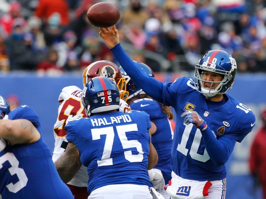 Eli Manning was involved in one of the most famous