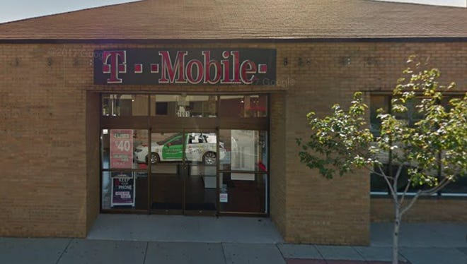 The T-Mobile, 7001 W. Greenfield Ave., was broken into on two successive nights by the same two men whom police believe also broke into a T-Mobile store in Wauwatosa on one of those nights.